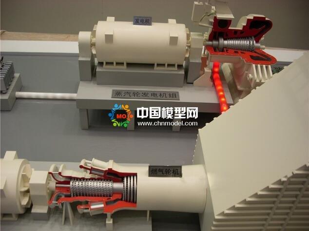 蒸汽联合循环发电技术沙盘模型