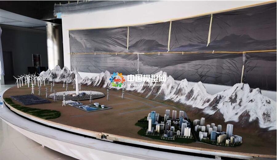 清洁能源沙盘模型,风电模型,光伏发电模型