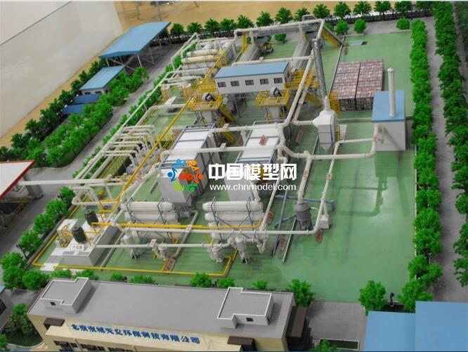 生活垃圾处理厂沙盘模型