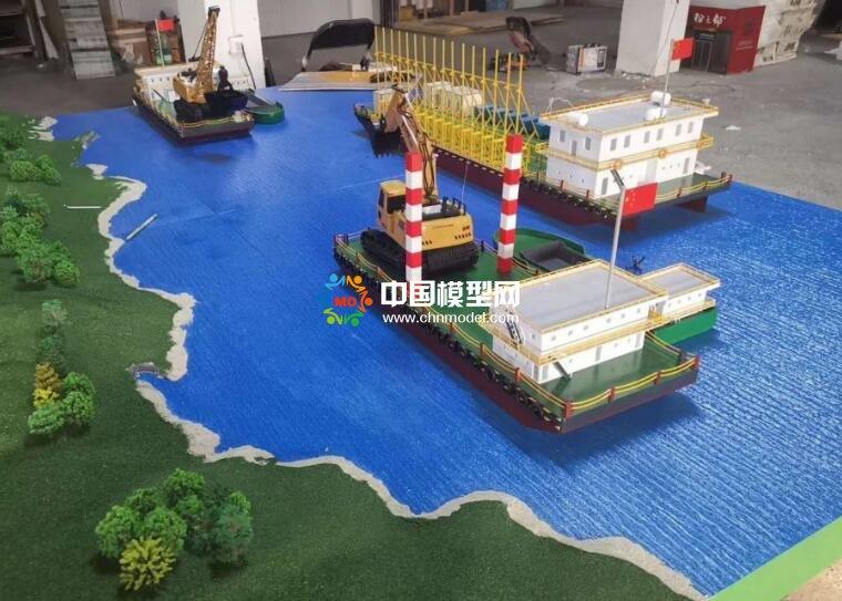 作业船模型
