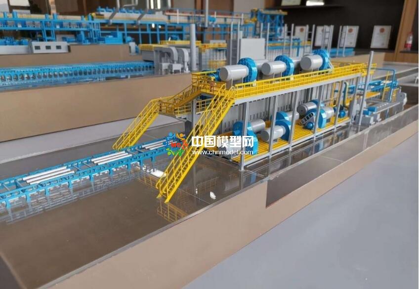 铝生产线模型,铝设备模型