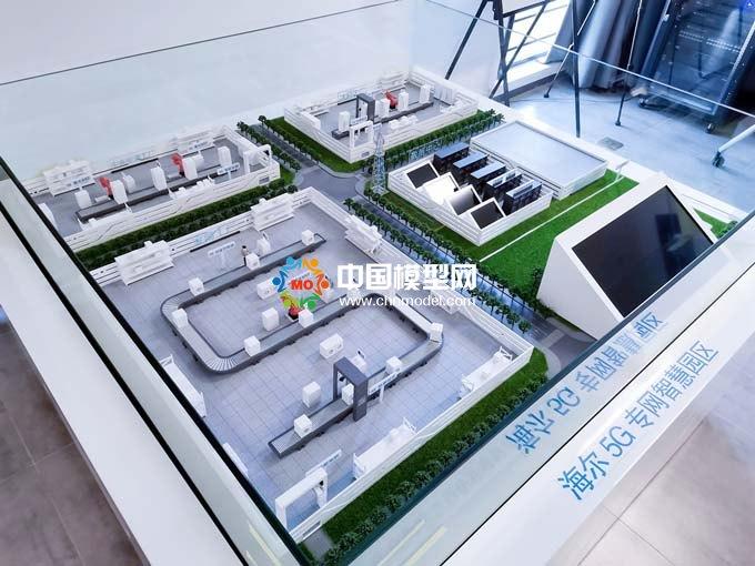 5G智慧工厂沙盘模型
