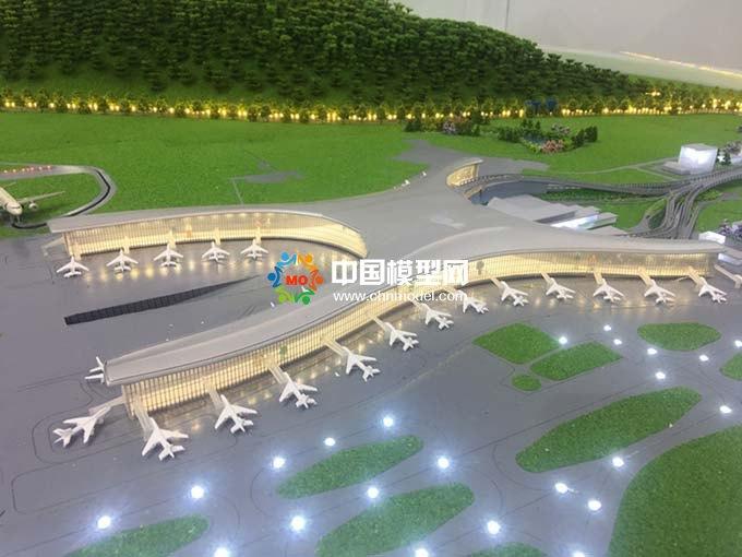 机场物流园沙盘模型