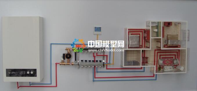 供暖设备模型