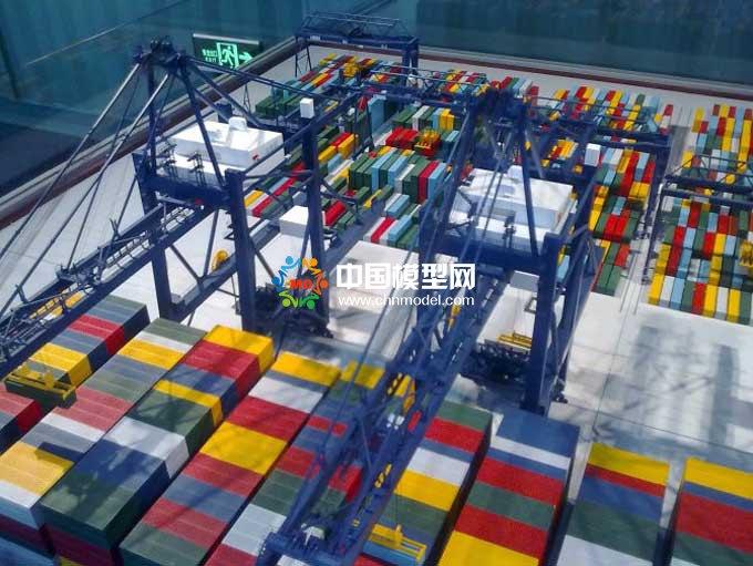 港口集装箱模型