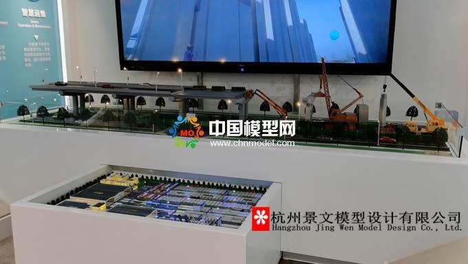 浙江交工装配式预制构件生产基地沙盘模型