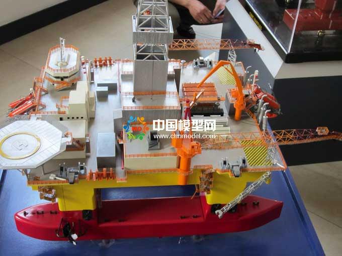 海洋钻井平台模型