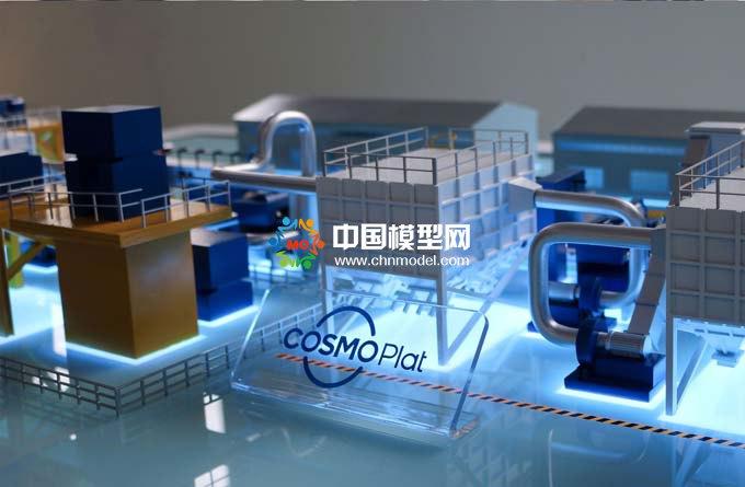 自动化产线沙盘模型