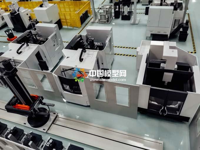 机器人生产线模型