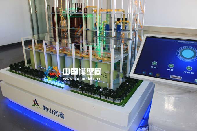 废酸再生处理沙盘模型