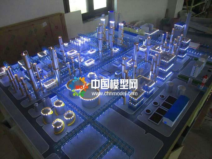 煤化工沙盘模型