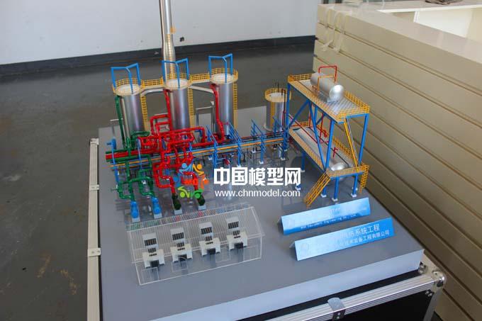 导热油供热系统沙盘模型