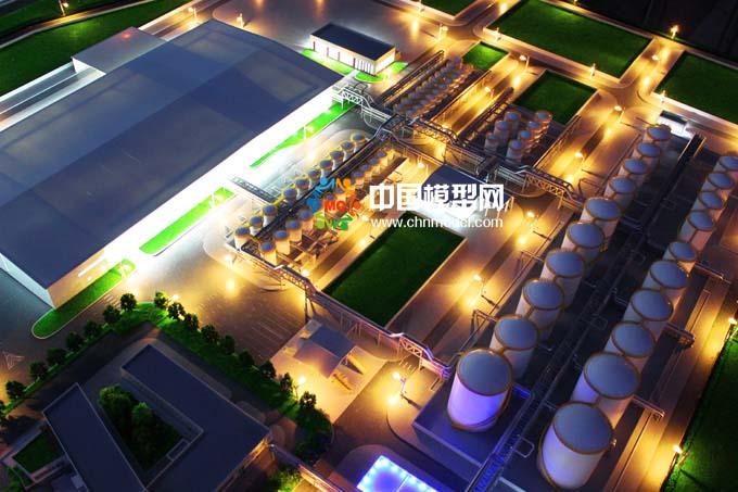 润滑油工厂沙盘模
