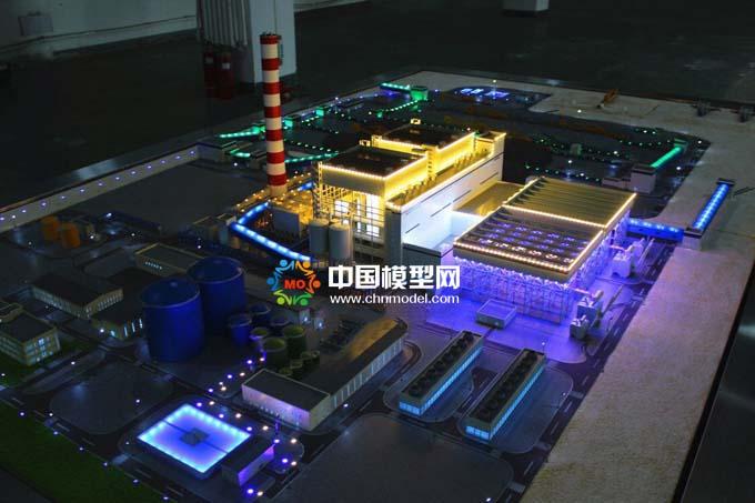 阿塔拉特油页岩电站沙盘模型