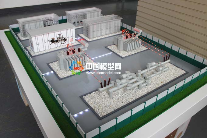模块化变电站模型,箱式变电站模型