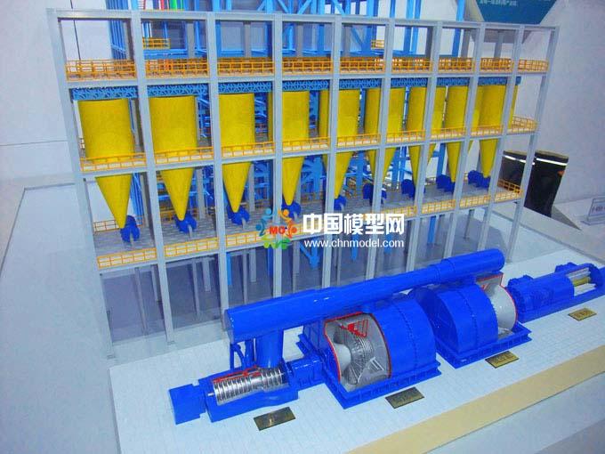 火力发电原理模型