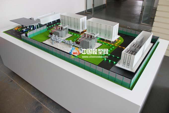 模块化智能变电站模型