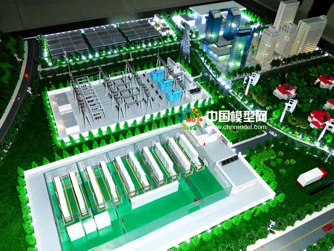 电池储能系统沙盘模型