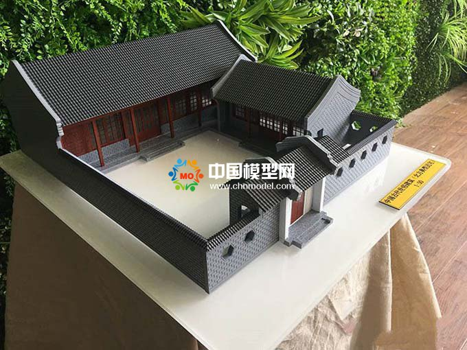博物馆古建筑模型