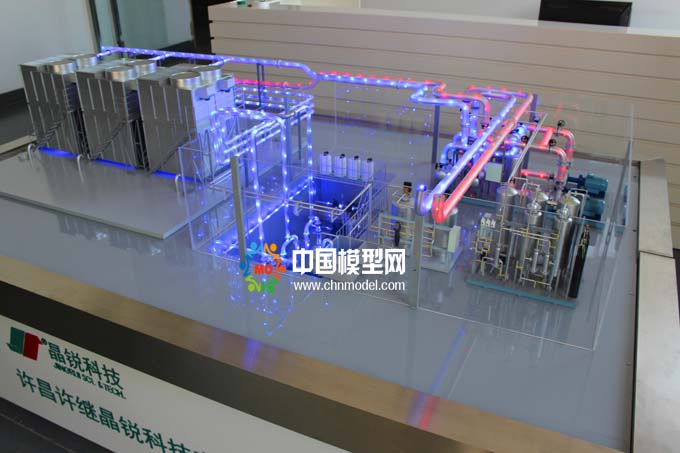 电力冷却设备模型