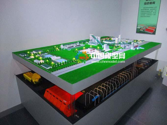 煤矿剖面模型