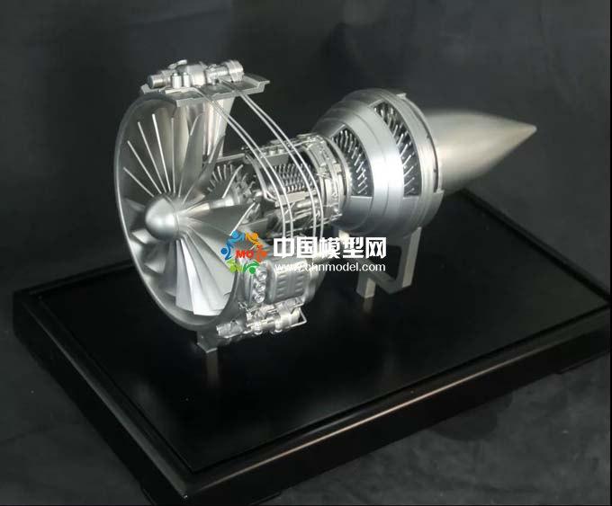 航天发动机模型