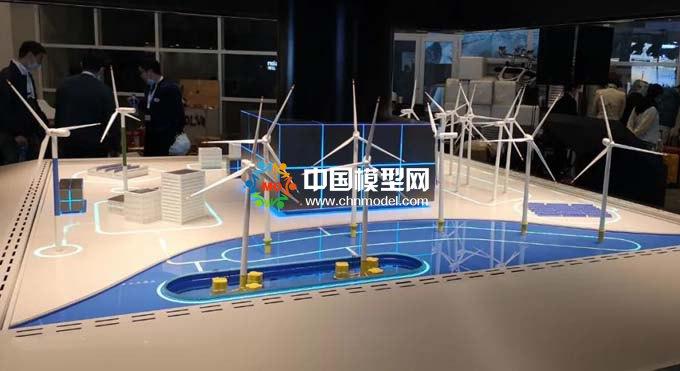 智慧风场沙盘模型