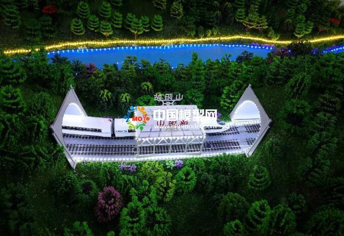 西武高速铁路沙盘模型