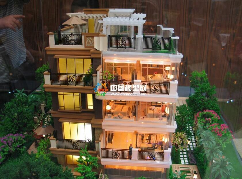 设计制作别墅模型的注意事项