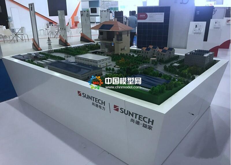 屋顶光伏发电模型