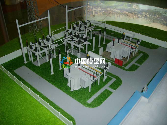 变电站沙盘模型
