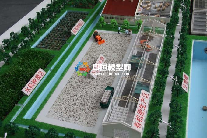 有机肥生产沙盘,生态循环污水处理沙盘模型