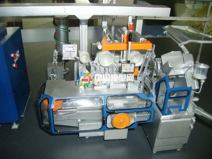 卷烟设备模型