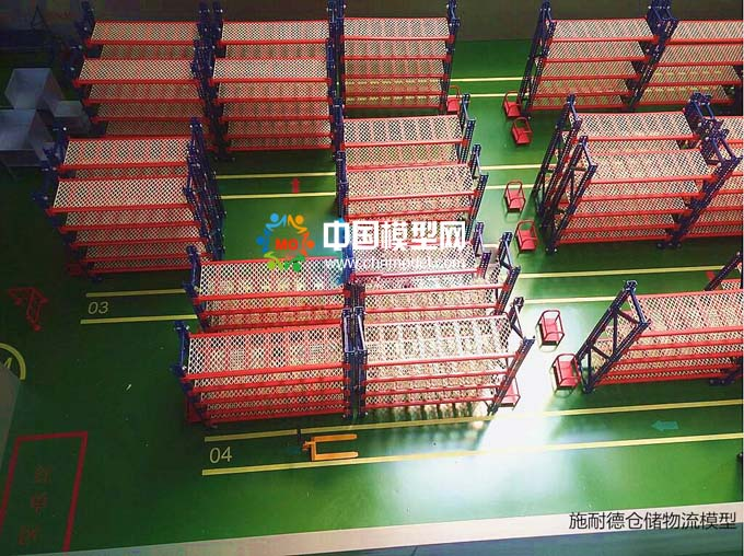施耐德电气仓储物流沙盘模型