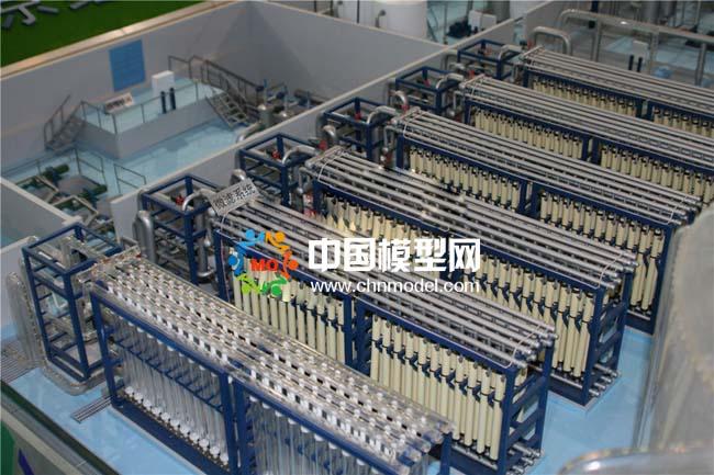再生水处理沙盘模型