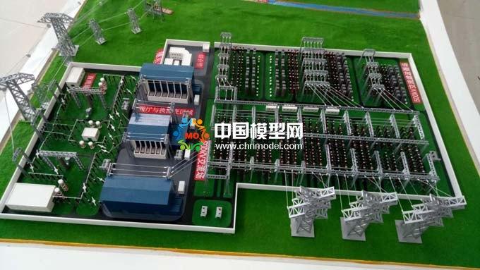 变电所综合自动化系统模型