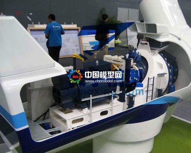 风力发电机结构模型