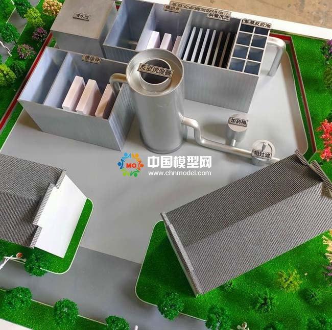 净水设备沙盘模型
