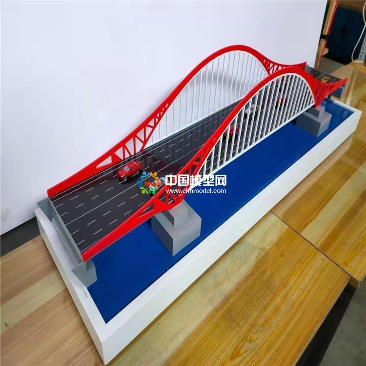 公路桥模型,钢结构桥模型,斜拉吊桥模型