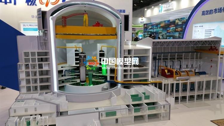 核电物理研究沙盘模型,核电站结构模型