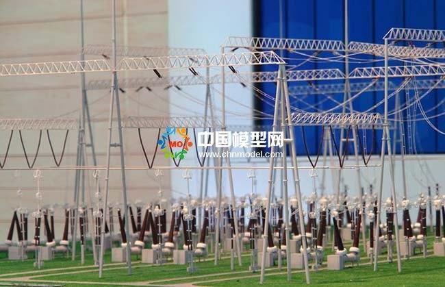 大型变电站沙盘模型