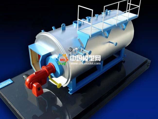 工业蒸汽锅炉模型