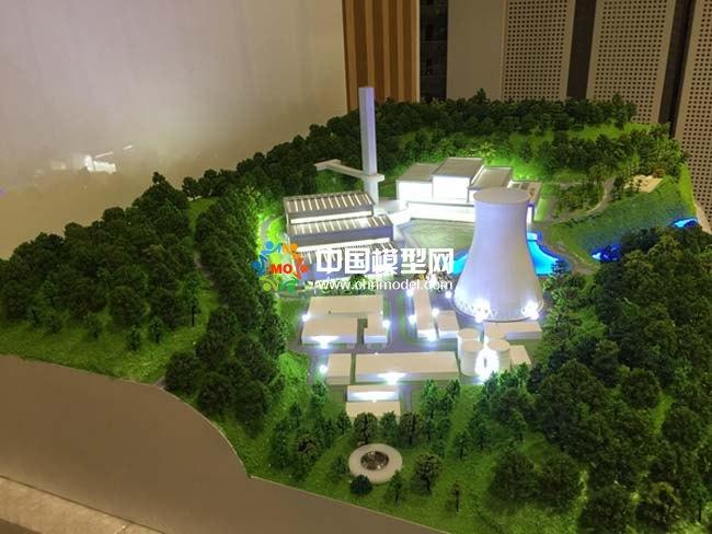 环保装备制造沙盘模型