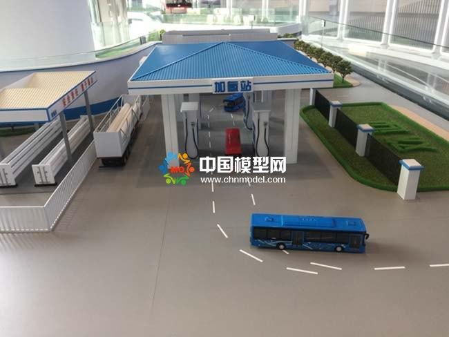加氢站沙盘模型
