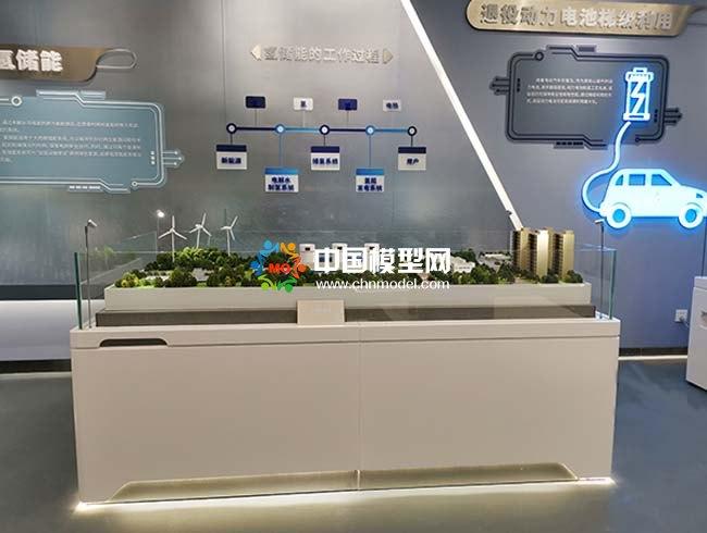 氢储能沙盘模型