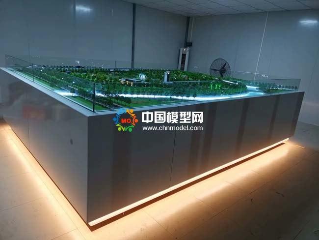 西朗污水处理厂沙盘模型