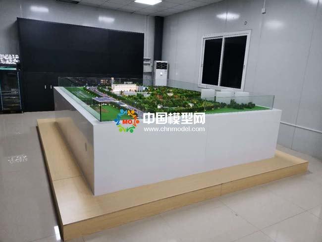 佛山市城北污水处理厂沙盘模型