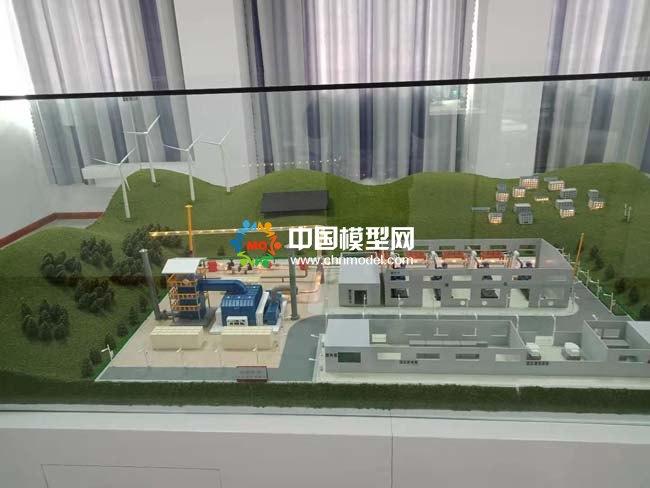 节能环保设备沙盘模型