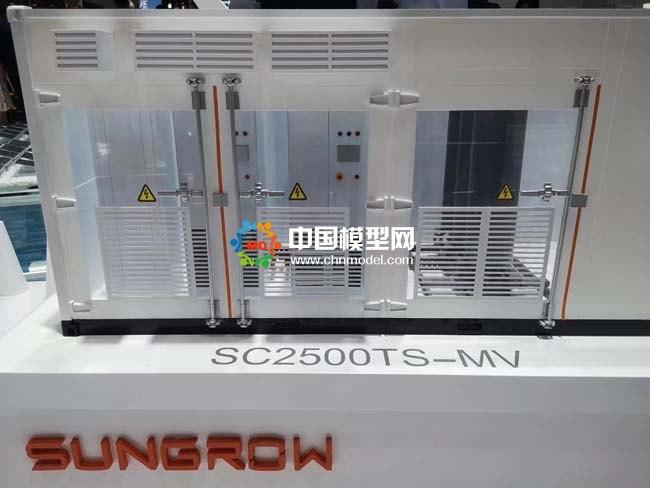 智慧阳光解决方案之地面光伏电站应用场景沙盘模型