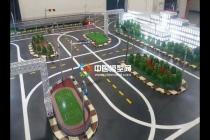 西安电子科技大学智慧交通沙盘模型应用智能交通监控系统
